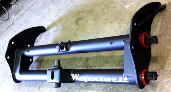 Standard 4 inch painted beam