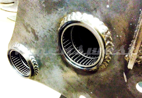 OEM style needle bearings, double rowed