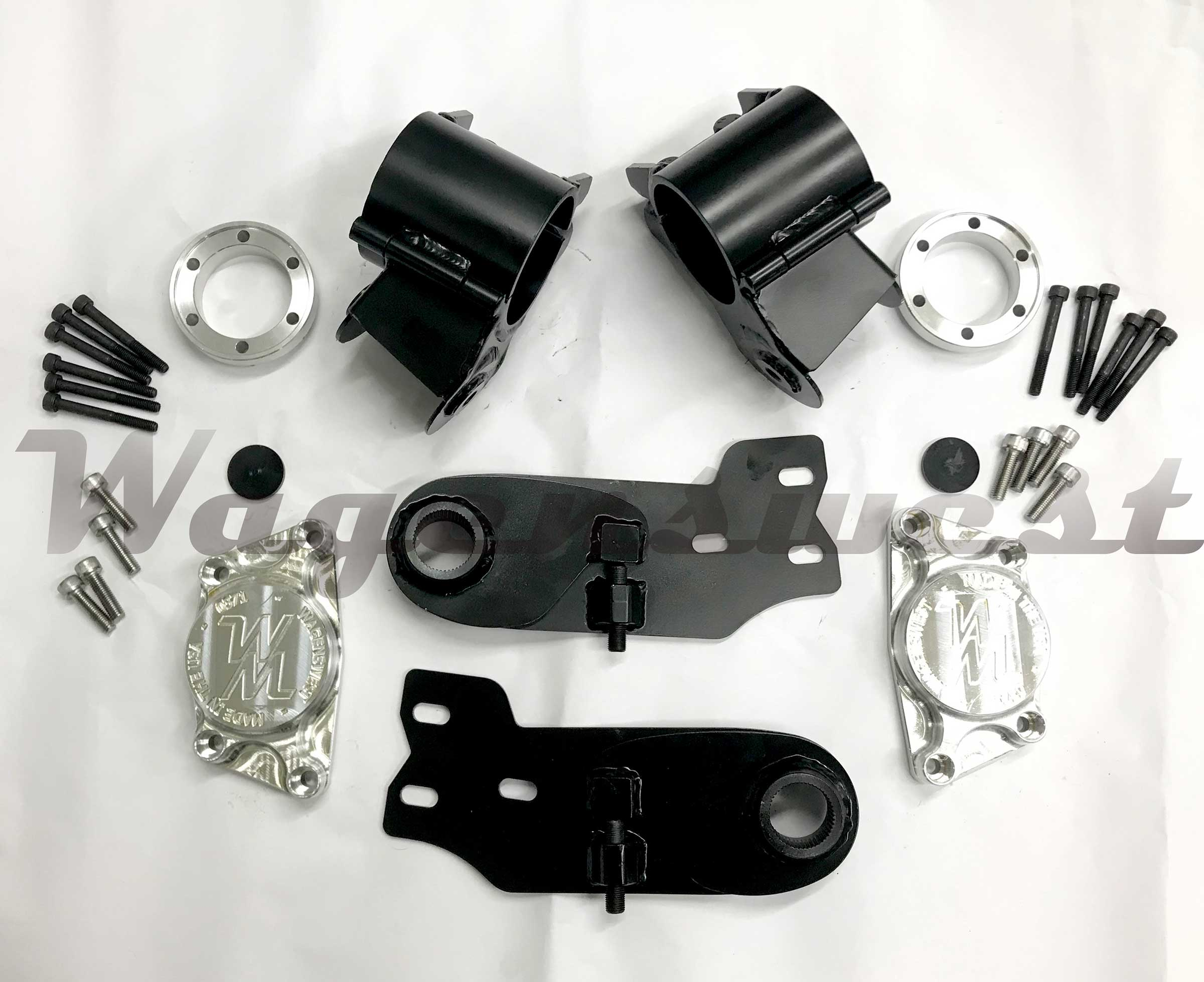 Adjustable Irs Kit By Wagenswest To Put Beetle Suspension In A Vw Bus
