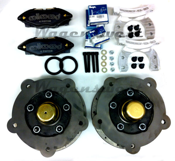 Babystang wide five 1963-70 VW bus front disc brakes-0