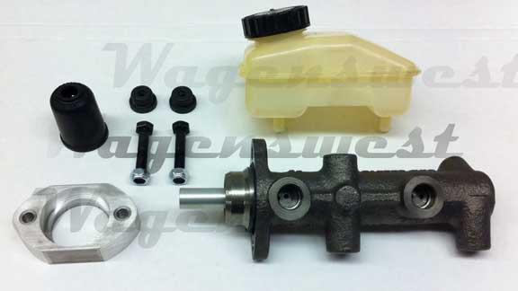 pre  volkswagen bus dual circuit disc brake master cylinder kit