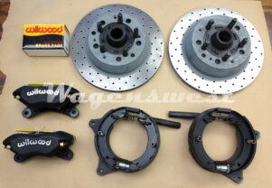 Wagenswest Bay bay rear disc kit