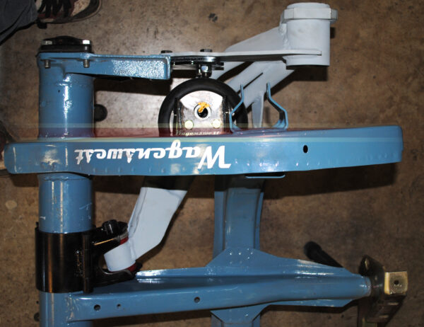 Narrowed IRS air ride trailing arms-495