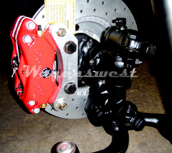 "Porsche 944 to Wilwood caliper adapter bracket ""pair""-531"