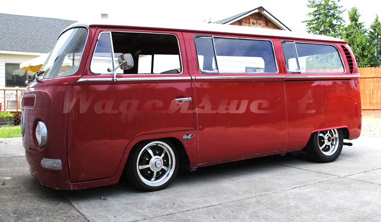 Wagenswest slam bay special, 1968-79 Volkswagen bus lowering kit.