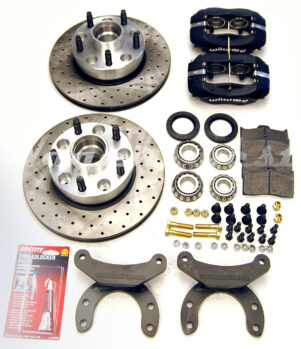 1955-79 bus - Porsche 944 style vented disc brake kit -0