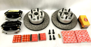 1971-79 Volkswagen bus big vented front disc brake kit -0