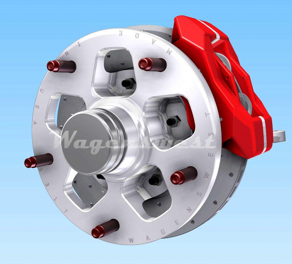 wagenswest  good   wide  vw bus disc brake kit