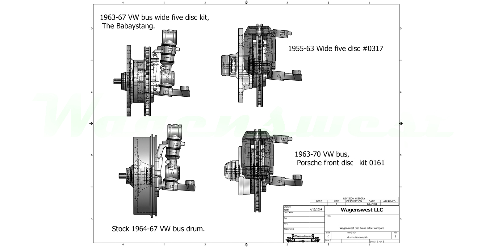 wagenswest  custom volkswagen bus suspension  made in