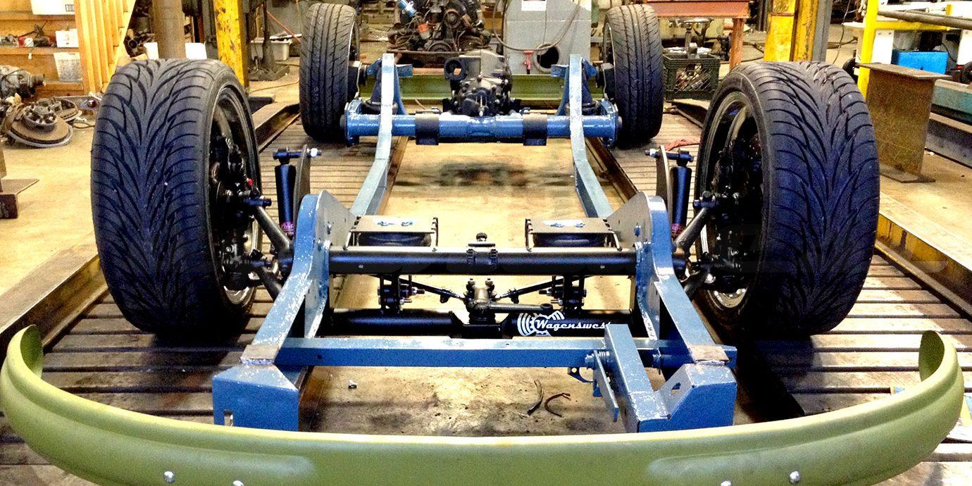 wagenswest custom volkswagen bus suspension   oregon usa